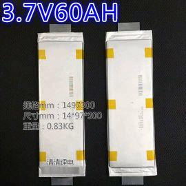 东莞厂家直销3.7V进口聚合物锂电池