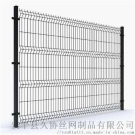 厂区围栏网价格 防护隔离栅 铁丝护栏网