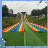 多重色彩多種歡樂 彩虹滑道廠家 浪設計體驗不同方式