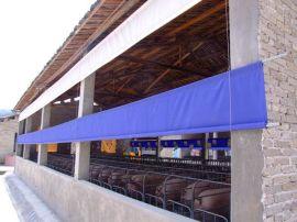 江门猪场卷帘生产厂-防水帆布-防水篷布供应