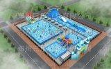 移动式水上乐园户外大型支架水池项目