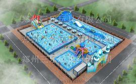 移動式水上樂園戶外大型支架水池項目