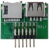 原廠佑銘M3系列USB和TF卡拷貝機介面板8個
