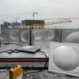 宁夏不锈钢水箱拼装 保温水箱 消防水箱
