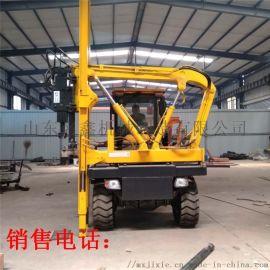 大量生产公路护栏安装钻孔机 混凝土护栏钻孔机
