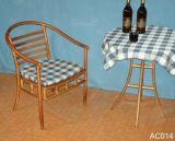 实木弯曲休闲椅(CAR014)