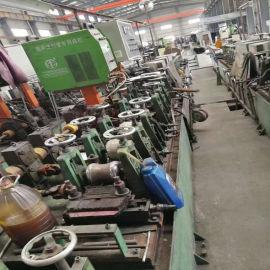 江苏工业制管机 自动管制机 二手不锈钢装饰管花纹管制管机