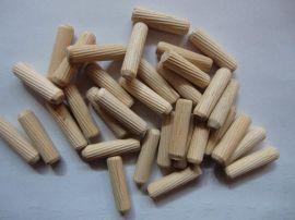 8.0MM樺木木釘木榫木棒直紋斜紋