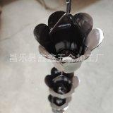 北京项目檐沟用铝合金雨链 铝合金排水链