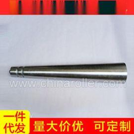 批发供应 轻型不锈钢无动力滚筒 滚筒输送 压双槽锥形滚筒