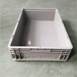 供应 46148 加强底塑料周转箱 600*400*148 EU物流箱 配件包装箱
