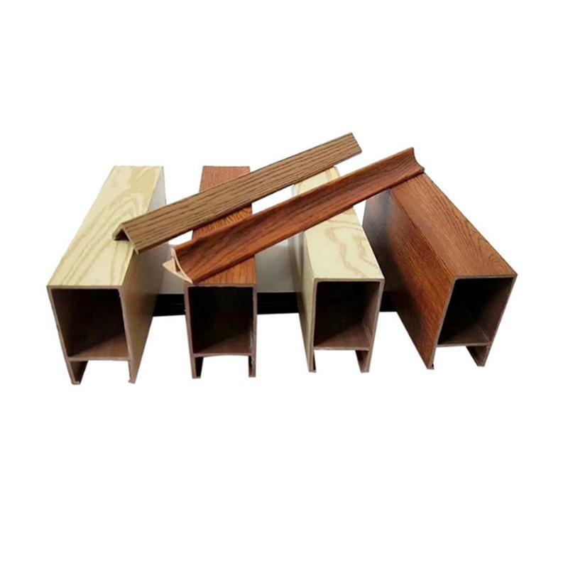 木紋鋁方通吊頂廣州廠家直銷規格厚度定製鋁方通