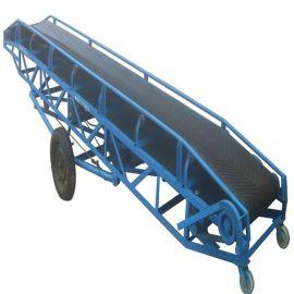 热销滚筒式输送机 管状带式输送机 可伸缩胶带输送机
