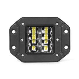 4寸方形LED工作灯 24W汽车改装射灯日行灯
