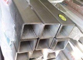厚壁316L拉丝面不锈钢方管