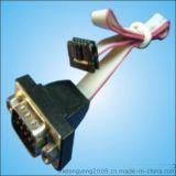 IDC排线 一端压接IDC 一端焊接D-SUB