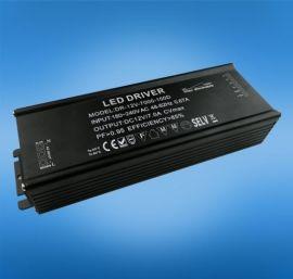 单通道100w,恒定电流 DALI调光电源 led驱动电源