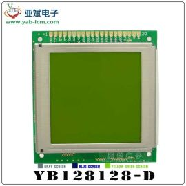 128*128图形点阵液晶显示模块,COB液晶显示屏,单色液晶屏