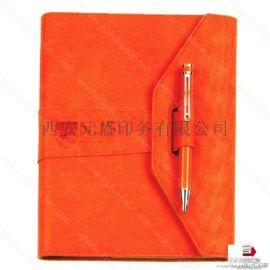 西安模擬皮筆封皮記事本印刷廠家_西安精裝筆記本印刷廠家