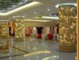 羅馬柱雕塑圖片 酒店裝飾砂岩羅馬柱 米黃砂岩雕花柱墩