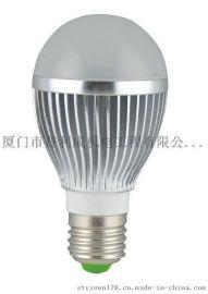 银色  9W  LED球泡灯