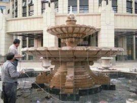 **旅顺丹东营口瓦房店普兰店石材石雕喷泉花钵浮雕玻璃钢铸铜动物人物卡通雕塑
