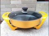 廠家直銷黃金鍋最暢銷進口神奇滴水不沾環保塗層黃金元寶鍋電炒鍋