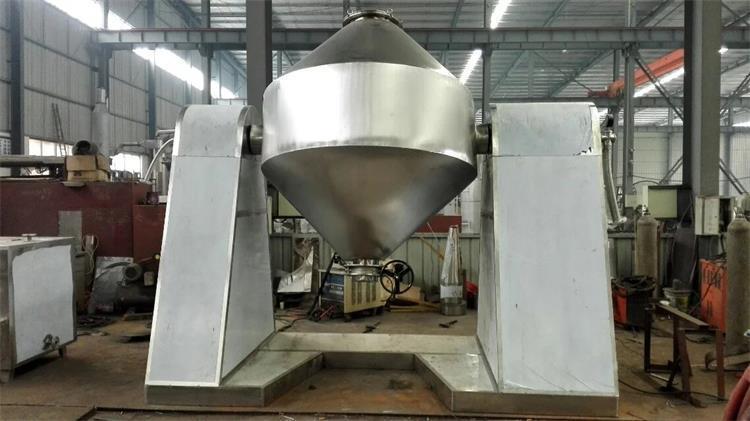 次磷酸鋁雙錐迴轉真空乾燥機,優質供應次磷酸鋁雙錐迴轉真空乾燥機
