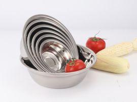 思美雅05汤盆 不锈钢汤盆加厚无磁汤盆 菜盆礼品赠品碗批发