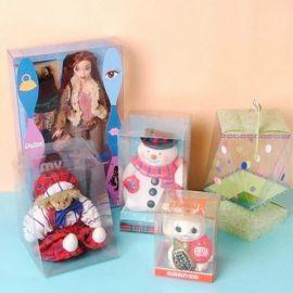 定制pvc盒,塑料包装盒 文具礼品盒本色磨砂盒