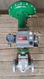 fisher气动薄膜头美国费希尔667-40调节阀执行机构气动阀门执行器