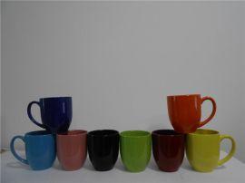 大鼓肚色釉陶瓷杯厂现货杯型出售