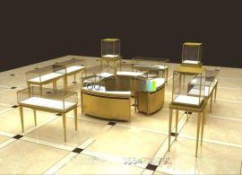 华信珠宝展示柜订做厂家,珠宝展示柜制作工厂,深圳展柜厂