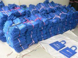 西安覆膜袋环保多次利用帆布袋 无纺布袋子西安厂家定制