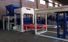 12-15大型全自动路面制砖机生产线,大型水泥免烧砖机