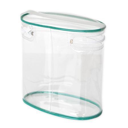 PVC化妝品袋 透明筒模袋 拉鍊袋