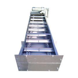 水平式玉米刮板输送机专业生产碳钢板刮板机厂家颗粒爬坡式刮板机