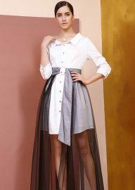纽方20春装品牌折扣女装艾尔丽斯卡蔓诗尾货走份批发快手直播货源