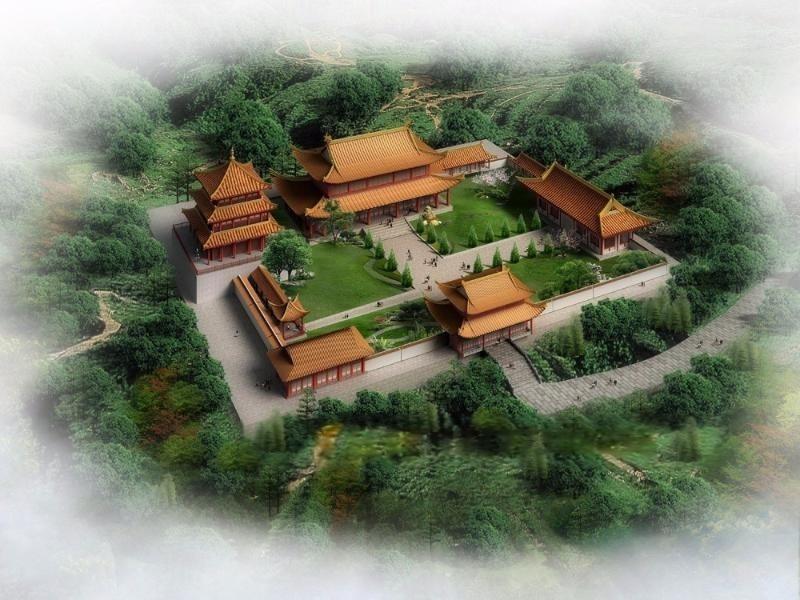 寺庙设计、寺庙图册设计、寺院画册设计