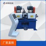 厂家定制短管倒角机 ZH一120双头短管倒角机短管双头全自动倒角机