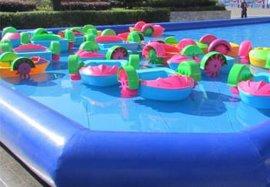 广场儿童游泳池批发,成人充气水池,充气沙滩池