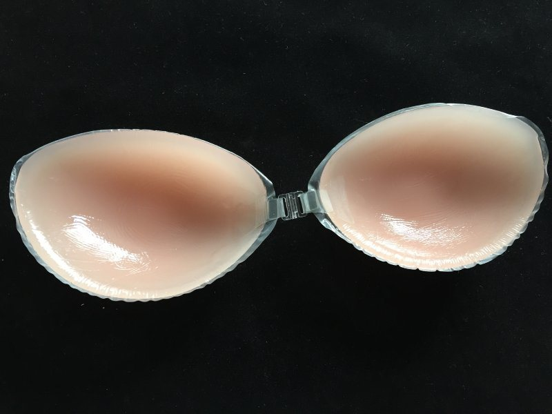 供應無肩帶自粘矽膠隱形文胸 矽膠胸貼  貼 矽膠胸墊