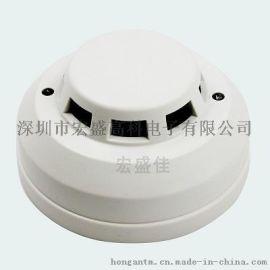 吸顶式燃气报警器吊顶安装-联网型吸顶家用燃气报警器
