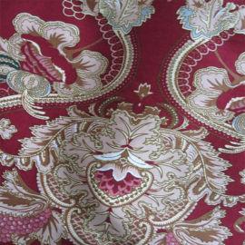 批量供应印花全棉斜纹色织布