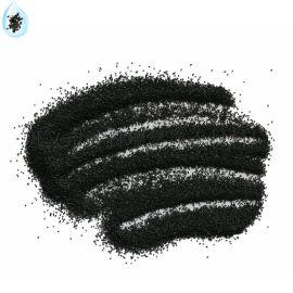 抛光喷砂黑刚玉 耐磨地坪可用黑刚玉