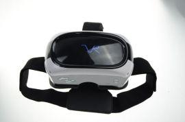 微智芯智能眼镜VR201、VR一体机、VR虚拟现实设备、头戴式显示设备、3D游戏、3D影视