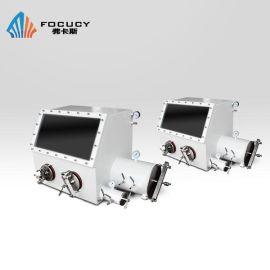 FOCUCY弗卡斯 F-SV610单人操作惰性气体手套箱 304型不锈钢真空手套箱 锂电池手套箱定做 厌氧手套箱 无水无氧防尘净化手套箱