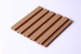供应生态木吸音板 生态木浮雕板