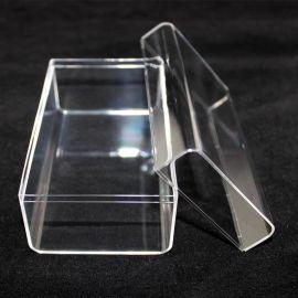 透明水晶盒生产厂家,电子烟透明包装盒移动电源塑料盒型号GS-04