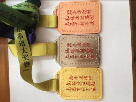 深圳专业金属比赛奖牌制作工厂合金个性奖牌定制